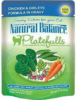 Natural Balance Platefulls Chicken & Giblets Adult Cat Food