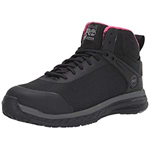 Timberland PRO Women's Drivetrain Mid Composite Safety Toe Industrial Athletic Work Shoe