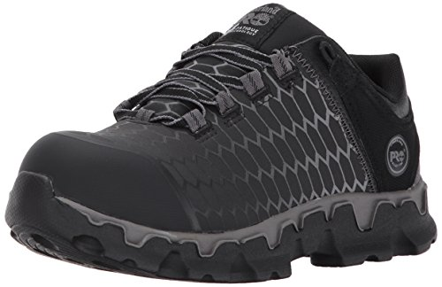 Timberland PRO Women's Powertrain Sport Alloy Safety Toe Shoe,Black Raptek,8.5 M US