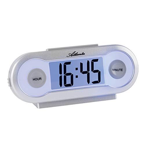 Atlanta Despertador digital LCD iluminado cuarzo con números – 1685/19