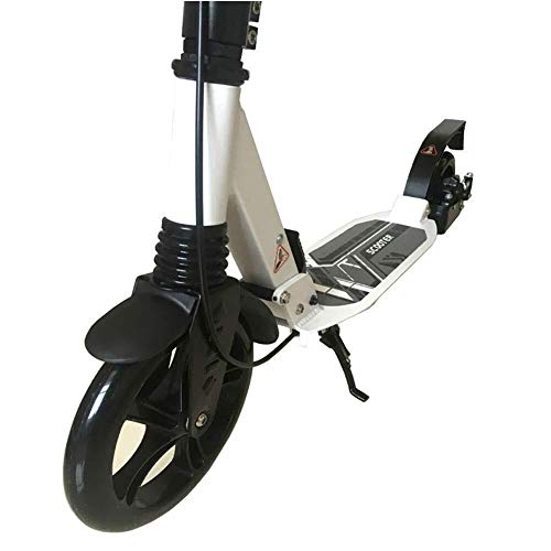 Buy LAOHAO Scooter Non-Electric Folding Luxury Aluminum Alloy 2 Large Wheel Height Adjustable Suppor...