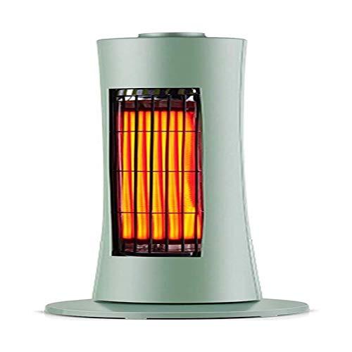 DWJ Calentador de Ventilador Interior, Calentador de Espacio infrarrojo con Control de Base giratoria Desmontable Control de Control de energía Tipo de Ahorro de energía-400-800 W