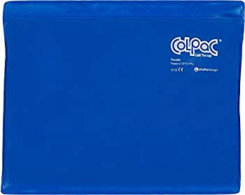 Chattanooga ColPac - Reusable Gel Ice Pack - Blue Vinyl - Standard - 11 in x 14 in  28 cm x 36 cm  - Cold Therapy for Knee Arm Elbow Shoulder Back for Aches Swelling Bruises Sprains Inflammation