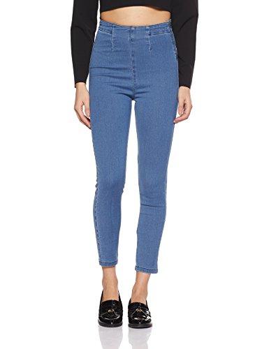 AKA CHIC Women's High Rise Skinny Jeans