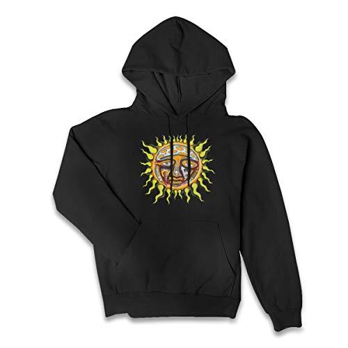 ASFSDGSDG Sublime Band Logo New Sun Womens Hoodie Sweatshirts Sweater L Black
