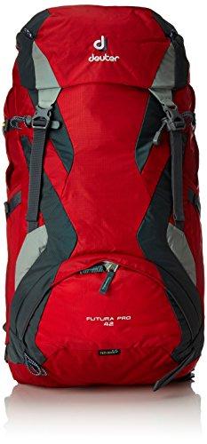 Deuter Futura Pro 42L Mochila de Montaña, Unisex Adulto, Rojo, 42