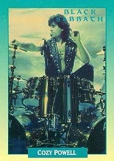 Cozy Powell trading Card (Black Sabbath) 1991 Brockum Rockcards #208