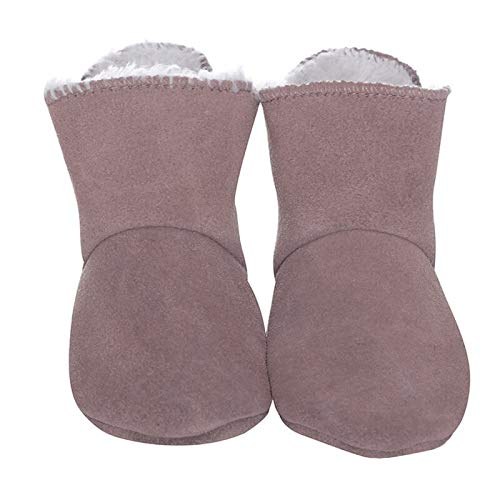 BabySteps Winter Freeze Cognac Suede Baby Laarzen, Medium, Bruin