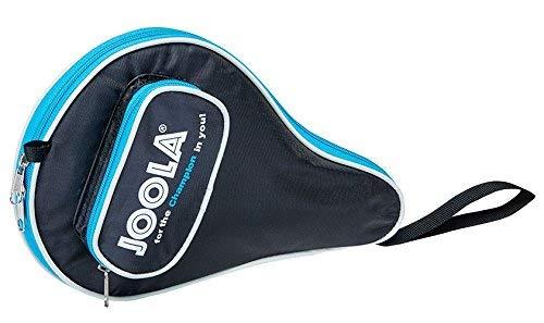 JOOLA TT-Hülle Pocket schwarz-blau & Tischtennis-Bälle Training 40mm, Orange 12er Blister Pack