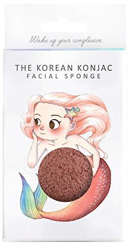 The Konjac Sponge Co Éponge pour le visage Rouge