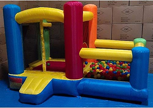 My Bouncer Little Castle 88' L x 118' W x 72' H Bounce House Bopper w/...