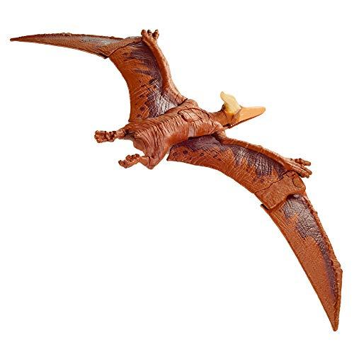 Jurassic World GVH67 - Brüll-Attacke Pteranodon, Dinosaurier-Actionfigur, beweglich und mit realistischen Geräuschen, ab 4 Jahren