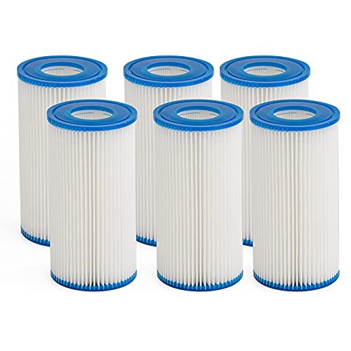 LVBANEWD 6 Pack Type A or C Replacement Filter Cartridge...