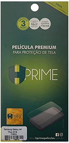 Pelicula Hprime Fosca para Samsung Galaxy A6 Plus 2018, Hprime, Película Protetora de Tela para Celular, Transparente