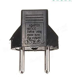 Tool Parts US To EU Travel AC Power Socket Plug Adapter Adaptor Converter 2 Pin