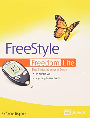 FreeStyle Freedom Lite Blood Glucose Meter ✅