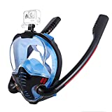 CHSDN Máscara de Snorkel de Cara Completa con toallitas antivaho,...