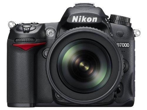 Nikon D7000 16.2 Megapixel Digital SLR Camera with 18-105mm Lens (Black)