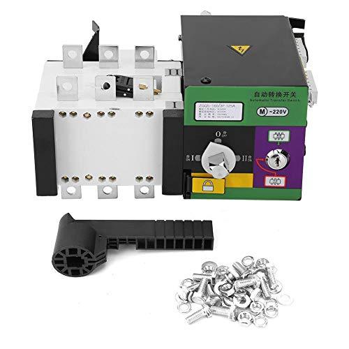 400V 160A Interruptor de transferencia automática de doble potencia Interruptores selectores eléctricos...
