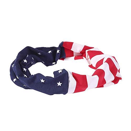 Zhongyanxin Americana Bandera Diadema,Ee.uu. Diadema,América Diadema,Ee.uu. Turbante,Americana Bandera Cabeza Envuelva, Eeuu Diadema, 4th de Julio, Ee.uu. Copa Del Mundo