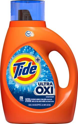 Tide タイド 洗濯洗剤 液体 ウルトラオキシー he 1360ml (1.36L 46 FL OZ) アメリカ アメリカン雑貨