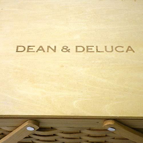 (ディーン&デルーカ)DEAN&DELUCA蓋つきバスケットSかごバッグナチュラルバッグディーンアンドデルーカベージュミニ小さめ収納ピクニックお弁当運動会公園バッグ鞄かごバッグショップバッグ付き