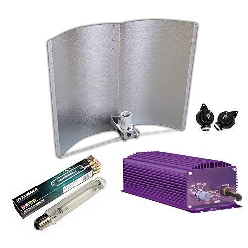 Kit de iluminación electrónico dimmable Lumatek 400W + Agrolite SHP + Reflector Adjust-a-Wings