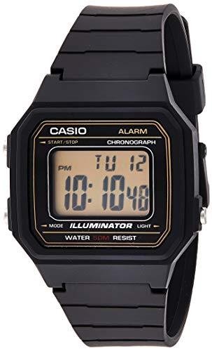 Casio Hommes Digital Quartz Montre avec Bracelet en Plastique W-217H-9AVEF