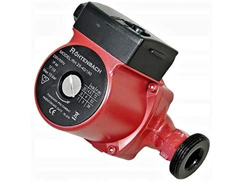 Wasserpumpe RÖHTENBACH 25-40/180 Heizung Pumpe Nassläufer Umwälzpumpe Warmwasser Heizungspumpe