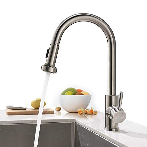 ieGeek Kitchen Mixer Pull Out Kitchen Faucet Küchenarmatur mit Küchenhandheld Shower