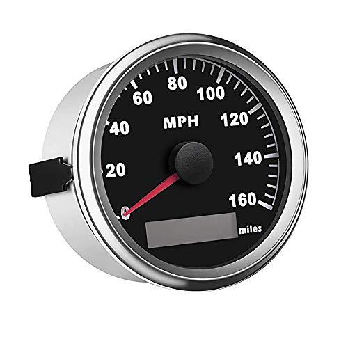 85mm GPS Speedometer Gauge Universal Odometer 160MPH for ATV UTV Motorcycle Marine Boat