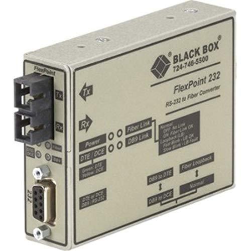 Black Box ME660A-MSC Flexpoint RS-232 to Fiber Converter, MUL