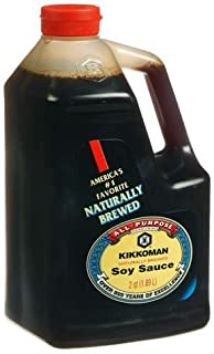 Kikkoman Soy Sauce, 64-Ounce Bottle (Pack of 1)