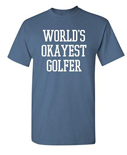 World's Okayest Golfer Funny T-Shirt