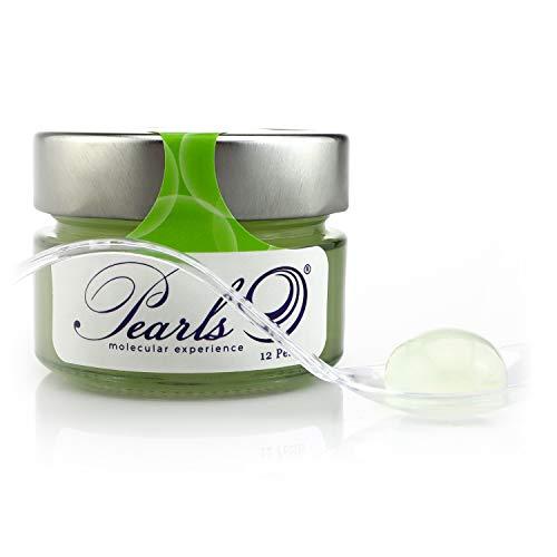 12 Pearls Mojito - Esferificaciones Premium listas para consumir (12 unidades). La vanguardia de la Gastronomía Gourmet en su mesa, la Coctelería Molecular. Productos Gourmet 2.0.