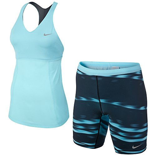 Nike Damen Tennis Top and Shorts Set Premier Maria