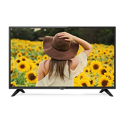 "STRONG SRT32HC2003 32"" (80 cm) HD LED Fernseher mit Triple Tuner (HD, HDMI, Scart, USB, EPG, CI+, DVB-T Antenne, Hotel Modus, DVB-T/T2/C/S2, Freenet), schwarz"