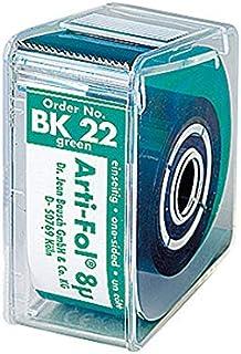プレミアムプラスジャパン 8μ咬合紙アルティ・フォル ロールケース・片面 緑 BK22