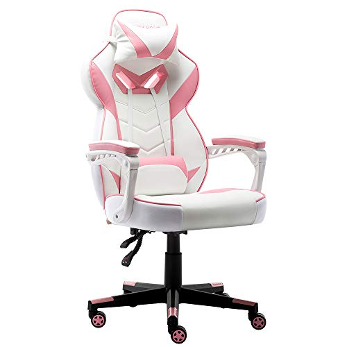 Bonzy Home Pink Gaming Chair