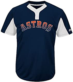 860c25dec9b Majestic Navy White 2-Button Cool-Base Houston Astros Blank or CUSTOM Back