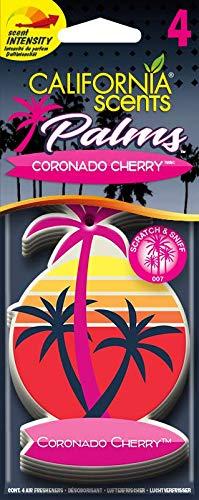 California Scents E302691700 Palms Lufterfrischer Coronado Cherry, 4 Stück