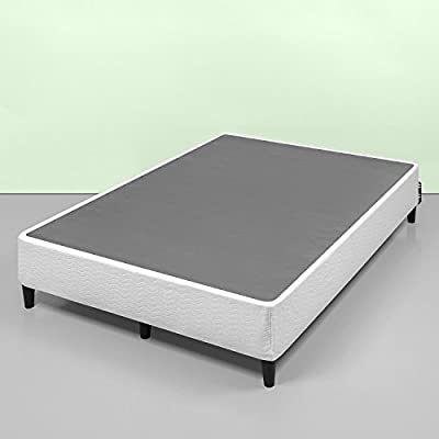 Zinus Keenan 14 Inch Free Standing Smart Box Spring / Mattress Foundation / With 9 Support Legs / Strong Steel Structure / Easy Assembly Required, Queen