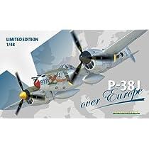 1/48 WWⅡロッキード P-38J ライトニング <ヨーロッパ戦線>  リミテッド エディション