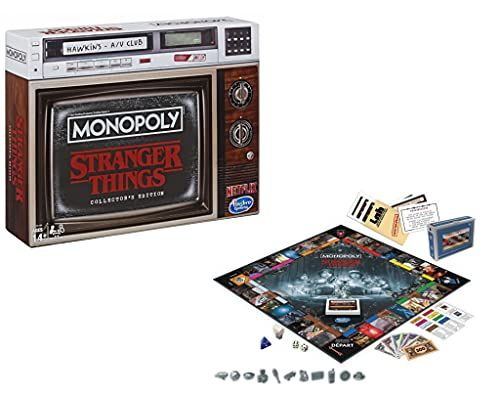 Hasbro Monopoly Stranger Things Edition Collector