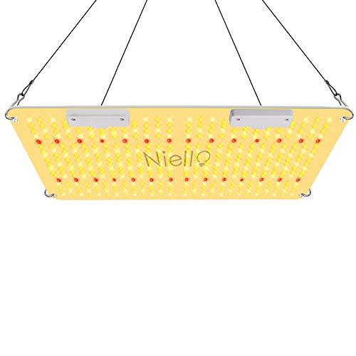 Niello 2000W LED Grow Lampe 440 LEDs Pflanzenlampe Vollspektrum mit IR, UV,High PPFD Sunlike LED Grow Light für Zimmerpflanzen Gemüse und Blumen von 120 * 120cm