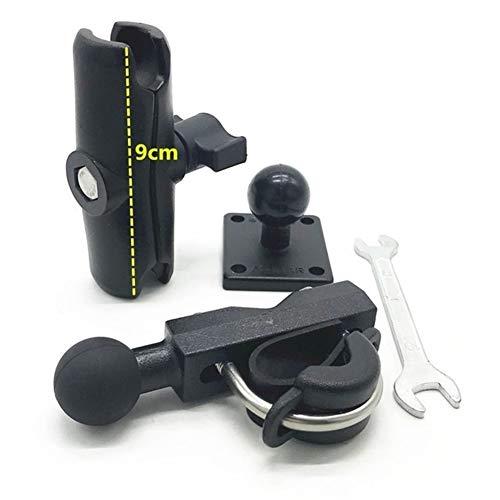 DAXINIU Base Combo T Perno de Montaje Kit de Soportes y ampDouble zócalo del Brazo y del ampSquare Base de Montaje for Tomtom GPS Ram Mounts Accesorios de la cámara (Colour : 9cm 3in1)