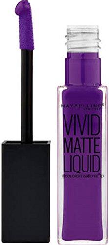 43 Vivid Violet - lippenstift Vivid Matte Liquid Maybelline presse/pressemitteilungen