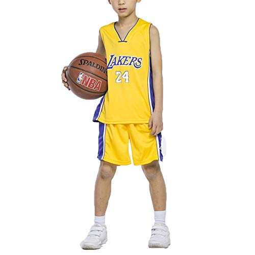 FILWS Basketball Trikot Kobe Bryant Basketball Kleidung Kinder Basketball Uniform Set Männer Und Frauen Kinder Trainingskleidung