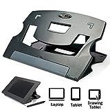 MAX SMART - Soporte de Dibujo para Tableta gráfica Digital, ángulo Delgado y Ajustable para Tableta, artisul D13, D10, iPad Pro Wacom Cintiq