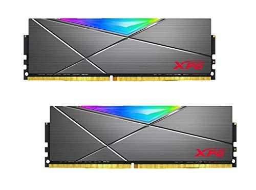 ADATA XPG Spectrix D50 RGB LED 16GB Kit (2X 8GB) DDR4 4133MHz (PC4-33000) CL19 XMP 2.0 DIMM Arbeitsspeicher